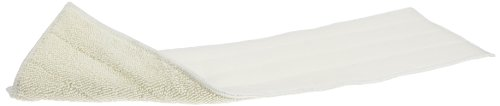 Impact LFFV18 Microfiber Trapezoid Finish Mop, 18'' Length, White (10 Bags of 12) by Impact Products