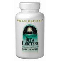 Source Naturals Beta Carotene, 250 Softgel 25000 IU(Pack of 3)