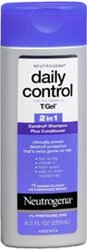 Neutrogena T/Gel Daily Control 2 In 1 Dandruff Shampoo Plus Conditioner - 8.5 oz