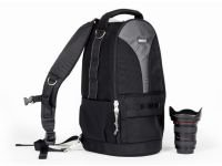 Think Tank Glass Taxi, Convertible Backpack / Shoulder Bag for Large Lenses with Camera Attached. by Think Tank