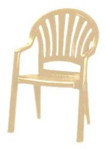 Grosfillex Pacific Fanback Armchair - 49092066 (16 pack)