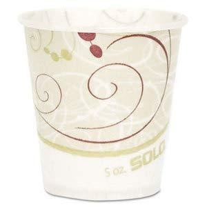 Dart Paper Water Cups, Waxed, 5Oz, 100/Bag, 30 Bags/Carton