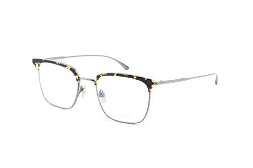 Masunaga Unisex Designer Eyeglasses Collins 14 Yellow , Demi grey - Eyeglasses Collins