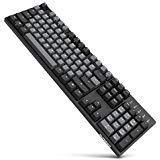 Durgod Taurus K310 Mechanical Gaming Keyboard - 104 Keys -...