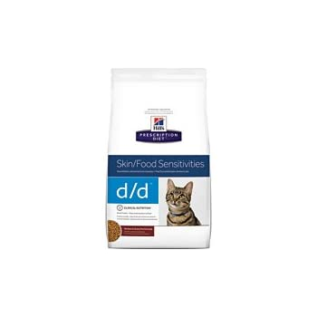 Hills Prescription Diet d/d Feline Skin Support Venison and Green Pea Formula Dry Cat