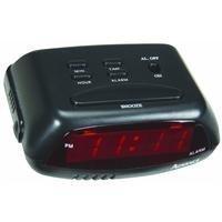 GENEVA/ADVANCE CLOCK 3138AT 0.6 LED Alarm Clock, Black by GENEVA/ADVANCE CLOCK CO