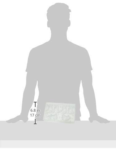 Martellato 20-C1957 Polycarbonate 3D Chick Magnet Mould Transparent Martellato/_20-C1957 65 x 84 x 80 mm