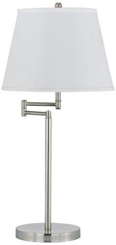 Swing-Arm Table Lamp with Shade