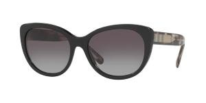 Burberry Cat Eye Sunglasses - Burberry Women's 0BE4224 Black/Gradient