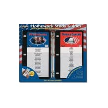Quick Reference Homework Study Guides 2-packs USA