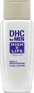 統合する用心深い影のあるDHCリッチ&モイスチュア フェースローション【DHC for MEN ハイライフ】