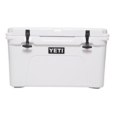 Yeti Tundra Cooler, White, 45 quart