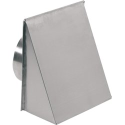 Broan-Nutone 643FA Aluminum Fresh Air Inlet Wall Cap for 8