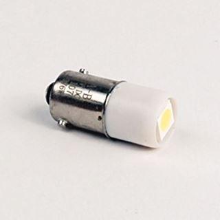 Allen-Bradley 800T-N376W, New, Miniature LED Lamp, Indicator, .13/.085A, 3V