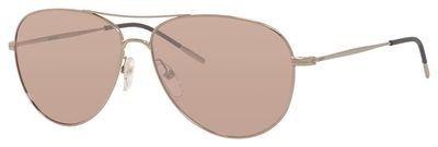 Carrera 105/s Aviator Sunglasses, Gold/Nude Rose Flash Silver, 56 mm