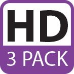 Fosmon Crystal Clear Screen Protector Shield for Sony Xperia Tablet Z / Z2 - 3 Pack