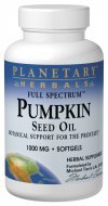 Cheap Planetary Herbals Full Spectrum Pumpkin Seed Oil Supplement, 45 Count