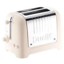 Dualit 2 Slice Toaster Canvas White Plus Bagel Setting Amazon
