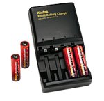Kodak Rapid Charger with 4 AA NiMh Batteries