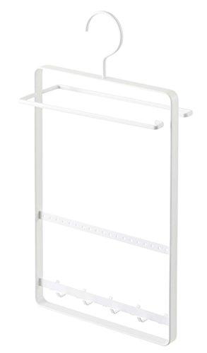 YAMAZAKI home Tosca Sunglass Plus Accessory Hanger, White