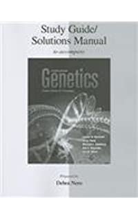 Genetics from genes to genomes leland hartwell dr michael l study guidesolutions manual genetics from genes to genomes fandeluxe Images