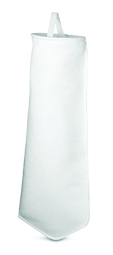 Rosedale Products PE-25-P2S  Polyester Felt Filter Bag, 25 μ, 7'' x 32'', White (Pack of 50) by Rosedale Products, Inc.