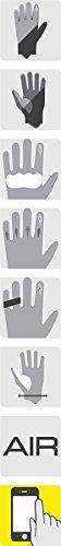 - Alpinestars GP Air Gloves (MEDIUM) (BLACK/WHITE/RED)
