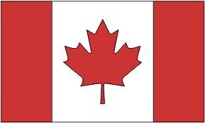 2x3 Foot Polyester Canada Flag