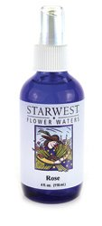 Flower Water Rose Starwest Botanicals 4 oz ()