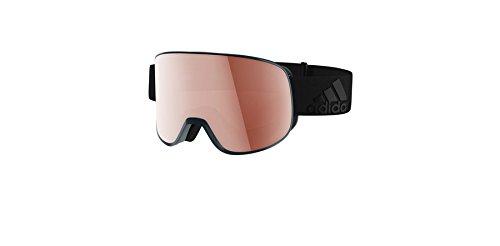 Lst Goggle (Adidas ad81 6053 Blue Matt LST Active Silver Progressor C Visor Goggles Lens Ca)