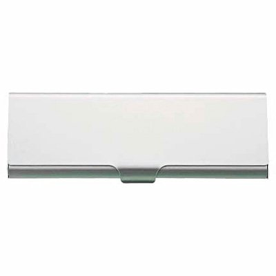 MUJI Aluminum Pen Case Box