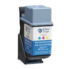 Elite Image Compatible Ink Cartridge Replacement for HP E...