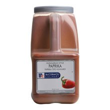 McCormick Hungarian Style Paprika - 5.25 lb. container, 3 per case