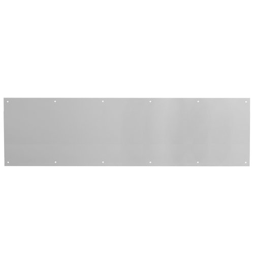 Prime-Line Products J 4620 Door Kick Plate, 10-Inch by 34-Inch, Satin Aluminum