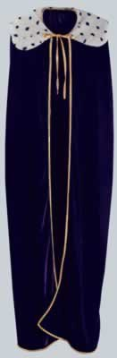 Beistle 60253 Adult King/Queen Robe, 4-Feet 4-Inch ()