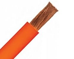 300FT 2 AWG Welding Cable Class M UL/CSA - 1666/34 STR - -40C to 90C - Super Vu-Tron - 600V - Orange by Omni