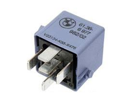 bmw mini fuel multi purpose relay blue gray genuine r50 r52 r53 r55 r56 r57