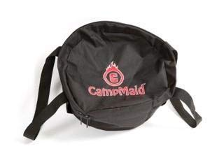 CampMaid Mega Dutch Oven Bag- Carry Bag for Dutch Oven, Tools, Accessories, Camping, Outdoors, Road Trips, Scouts, Family and Friends ()