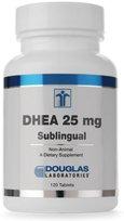 Douglas Labs - DHEA Sublingual 25 mg 120 tabs [Health and Beauty]