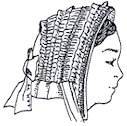 Victorian Style Hats, Bonnets, Caps, Patterns 1860s Drawn Bonnet Pattern $15.95 AT vintagedancer.com