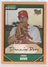 Baseball Card) 2007 Bowman Draft Picks & Prospects - Chrome - Orange Refractor #BDP24 ()
