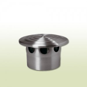87 und 100 80 120 mm Dunsthaube Titanzink in den Gr/ö/ßen NW 76