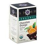 Stash Tea Organic Teas - Chocolate Orange Herbal (a) - 2pc