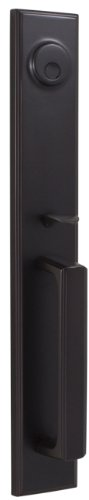 Weslock 06695-1--0020 Woodward II Entry Handle, Oil-Rubbed Bronze