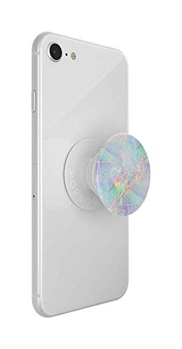 PopSockets: PopGrip with Swappable Top for Phones & Tablets - Opal |