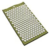 Bed of Nails Acupressure Mat-Relieves Neck/Back Pain, Sciatic Nerve, Stress, Insomnia,