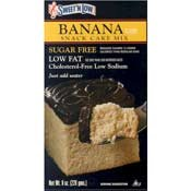 - Sweet 'N Low Banana Cake Mix