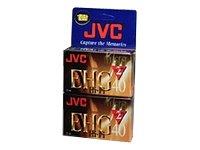 JVC 40-Minute VHS-C Camcorder Tapes