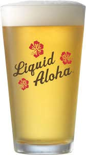 Kona Brewing Company - Liquid Aloha - 16 Ounce Pint Glass - Set of 2 by Kona Brewing Company (Image #1)