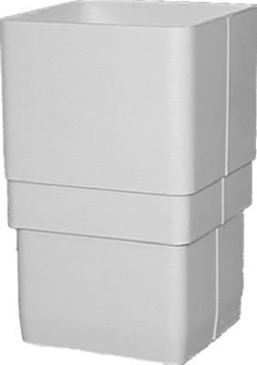 GENOVA Products RW203 Downspout Coupler, White